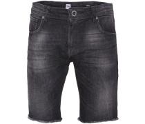 Vorta High Denim Shorts schwarz