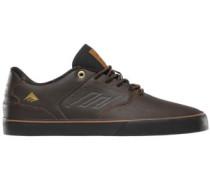 The Reynolds Low Vulc Skate Shoes dark brown