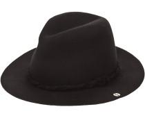 Dorance Wide Brim Hut schwarz