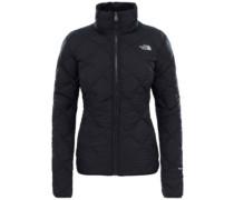 Zip In Reversible Down Fleece Jacket tnf black