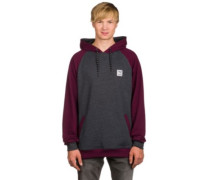 Rugged Hoodie anthra red