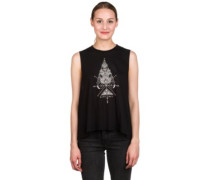 Straight Arrow Tank Top black