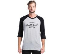 Redwood 3/4 Raglan Dirt T-Shirt schwarz