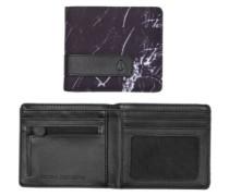 Showdown Bi-Fold Zip Wallet marbled black smoke