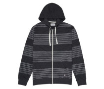 Mind Zip Hoodie black heather