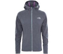 Tasaina Hooded Fleece Jacket vanadis grey