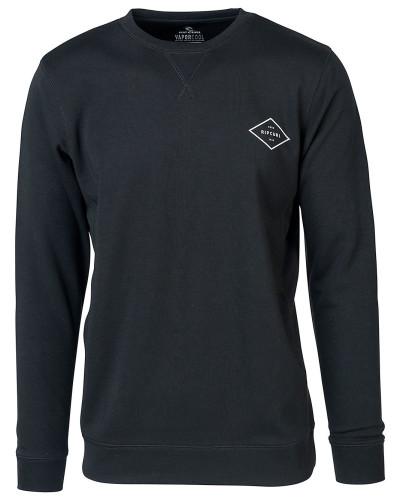 Essential Surfers Crew Sweater black