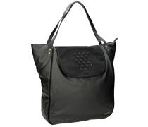 Penco Shoulder Handtasche schwarz