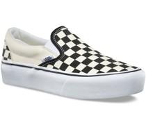 Checkerboard Classic Platform Slip-Ons w