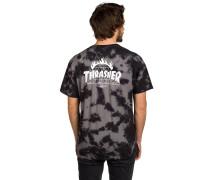 X Thrasher TDS Crystal Wash T-Shirt schwarz