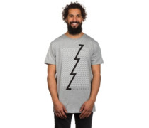Zoned T-Shirt light grey heather