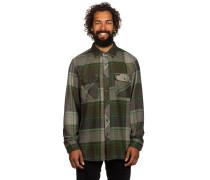 Bowery Flannel Hemd grün
