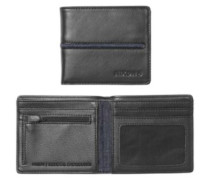 Coastal Showdown Bi-Fold Zip Wallet black