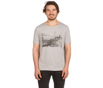 Ship T-Shirt grau