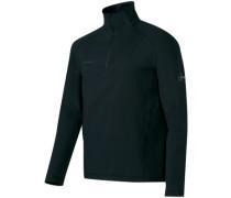 Snow Ml Half Zip Fleece Pullover black