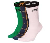 SB Everyday Max LW Skate Crew (3 Pk) Socks color