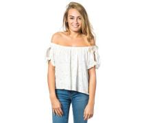 Marcilla Crop T-Shirt weiß