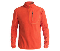 Cosmic Fleece Pullover orange