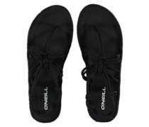 Stretch Strap Sandals Women black out