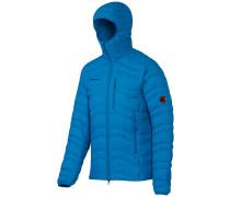 Broad Peak In Hooded Fleece Jacket blau