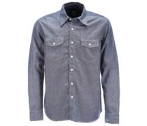Hallstead Shirt LS blue