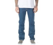V96 Relaxed Jeans stone wash
