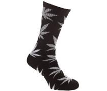 Glow In The Dark Plantlife Socken schwarz