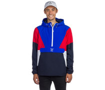 Get Down Pull Up Anorak navy red