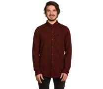 Marvin Shirt LS maroon