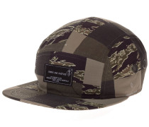 Patchwork Camo 5-Panel Cap