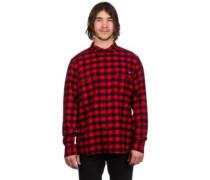 Jacksonville Shirt LS fiery red