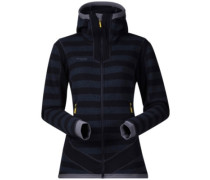 Hollvin Wool Fleece Jacket nightblue strip