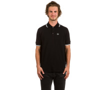 Straight Polo schwarz