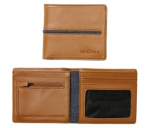 Coastal Showdown Bi-Fold Zip Wallet tan
