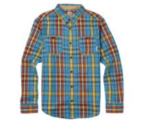 Fairfax Woven Shirt LS crnt blu essex plaid