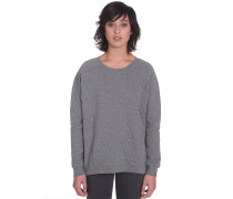 Up N Stitches Fleece Sweater grau