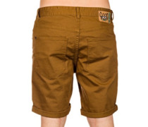 Goodstock Denim Shorts camel