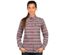 Cora Flannel Shirt LS monument hthr gibson plai