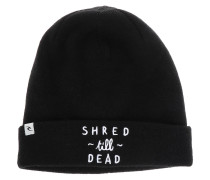 Shred Till Dead Beanie schwarz