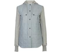 Ruston Flannel Hooded Shirt LS vintage indigo