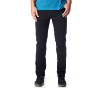 Throttle Jeans schwarz
