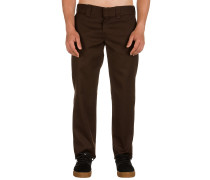Slim Straight Work Pants