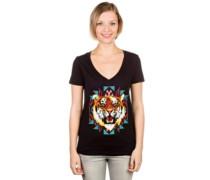 Textile Tiger T-Shirt black