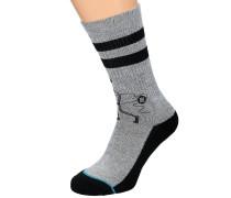 Las Gavitos Classic Crew Socken grau