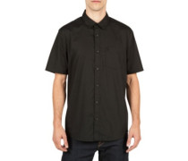 Everett Solid Shirt black