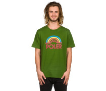Mountain Rainbow T-Shirt grün
