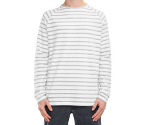 Striped T-Shirt weiß