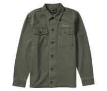 Kill Em Shirt Jacket olive