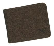Cork Flag Wallet d brown
