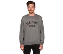 Team Crew Sweater grau
